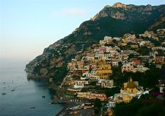 Positano on Italy's Amalfi Coast