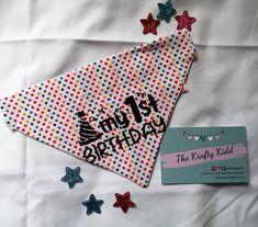 Dog Bandana, Bunting, Birthday, Handmade, Instagram, Garlands, Birthdays, Hand Made, Buntings