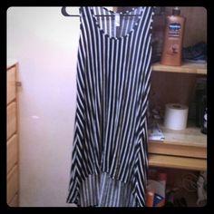 francescas  Dresses & Skirts - Striped black and white dress
