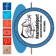 Siguis on siguis, #navega amb nosaltres, tenim representació a #facebook #twitter #googleplus #youtube #pinterest #instagram  Suma't al #comerçlocal seguint a la #xarxadelport som els #botiguers i l'#hostaleria del #portdecambrils #cambrils #tarragona