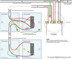 two way light switching (3 wire system, new harmonised cable colours Signal Light Wiring Diagram 2 way switching wiring diagram post date 12 nov 2018(78) source