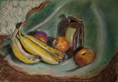 Still life with bananas by dozhdi