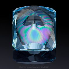 """St. Andrew, First-called"" - Topaz, 30.15 carats. © Victor Tuzlukov (Виктор Тузлуков).  High Jewellery and Precious Gems Photography. All images © Pryanechnikov 2012 (Фото © Сергей Прянечников 2012) . 850×850 пикс"