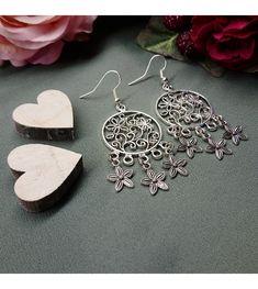 www.aconite.at Flower Power, Drop Earrings, Flowers, Jewelry, Jewlery, Jewerly, Schmuck, Drop Earring, Jewels
