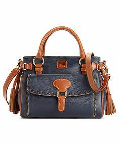 Dooney & Bourke Handbag, Dillen II Medium Pocket Satchel - Tip. Click pics for best price Louis Vuitton Handbags Sale, Cheap Handbags, Handbags Online, Wholesale Purses, Wholesale Handbags, Marc Jacobs Handbag, Brown Leather Purses, Satchel Handbags, Leather Handbags
