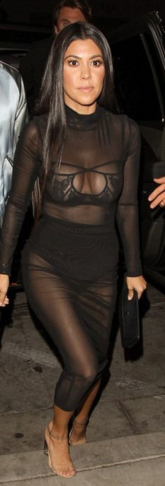 Kourtney Kardashian wearing Cartier