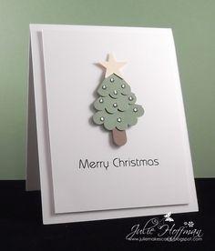Punch art - Christmas tree