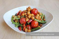 Heute kann ich euch mal weder stolz ein Rezept vorstellen, in dem ich bereits Gemüse aus dem eigenen Garten verwenden konnte :). Irgendwie schmeckt es einfach doppelt so gut ... wenn man es selbst ...