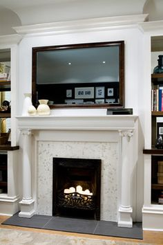 1000 Images About Decorate Above Flat Screen On Pinterest