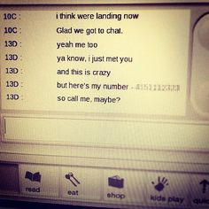 """Chat me, Maybe?: High engagement Instagram / Facebook Post for Virgin America in response to """"Call Me Maybe"""" meme"""