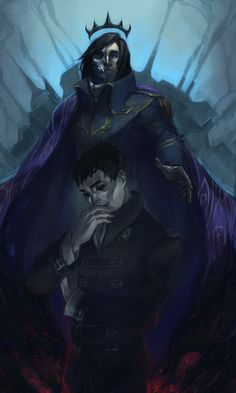 """vicious-mongrel: """" Corvo the Rat King & Outsider (just Outsider). I know, it could be better, but eh whatever. """""""