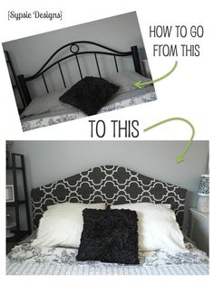 I love all of the beautiful upholstered headboards that are being created and would love to have one in my home, but replacing my current bed frame is just not…