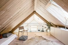 MNy Arkitekter completed a handsome Finnish lake house that puts a contemporary twist on the traditional gabled timber home. Types Of Timber, Modern Lake House, A Frame Cabin, Timber House, House Plans, Sweet Home, New Homes, House Design, Design Design
