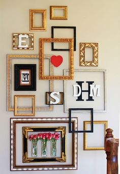 Hang a little love on your walls this Valentine's Day with Command™ Picture Hanging Strips. Create the perfect gallery wall to display your loved ones and your favorite quotes with this helpful tutorial.