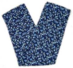 "2000 Gymboree Azalea ""No Name"" dark blue floral leggings"