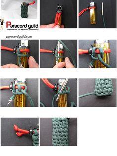 Reverse Stitched Solomon Paracord Bracelet Paracord