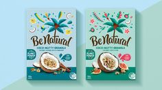 Brand New: New Logo and Packaging for Be Natural by Loop Brands