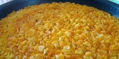 Receta del arroz con bacalo y coliflor tradicional de Benifallim.