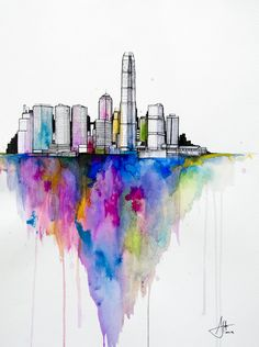 CJWHO ™ (Watercolors by Marc Allante Hong Kong born...)