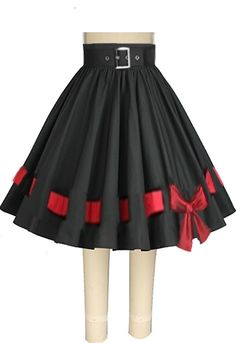 1950s Inspired Circle Skirt -- Chic Star design by Amber Middaugh