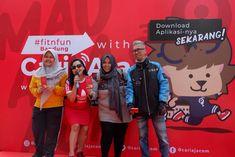 CARI AJA di Car Free Day (CFD) di Kota Bandung, Cari Aja Indonesia
