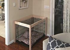 Dog Bed Build by SnazzyLittleThings.com