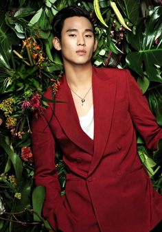 Kim Soo Hyun in 2015 Pantone Colour: Marsala Korean Face, Korean Star, Korean Men, Asian Actors, Korean Actors, Asian Boys, Asian Men, Dandy, Hyun Seo