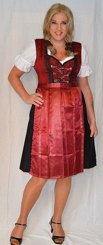 Lovely dirndl and sandals