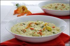 Food and Cook by trotamundos » RISOTTO DE FLORES DE CALABACÍN ( Risotto con Fiori di Zucchine )