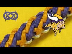 How to make a Viking Falls Sinnet Paracord Bracelet - YouTube