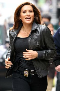 "Mariska Hargitay 15 years as Olivia Benson on Law & Order SVU still sexy at 50 running down perps. TV Guide lists her as one of the highest paid TV stars raking in $400,000 an episode. There were whispers a few years back when Christopher Meloni was let go that Jennifer Love Hewitt would replace Hargitay, well JLH has joined ""Criminal Minds"", and Mariska is one step closer to actually being in charge"