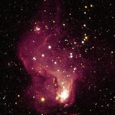 Amethyst nebula visible from Marcasian system.