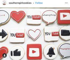 Youtube Party, Desserts, Tailgate Desserts, Deserts, Postres, Dessert, Plated Desserts