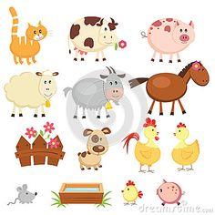 Farm animals by Annata78, via Dreamstime