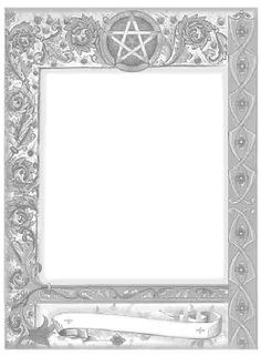 Book of shadows pages free printable