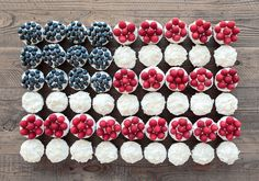 DIY for the 4th of July: Flag Cupcakes!