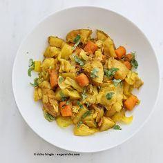 Vegan Richa: Atakilt Wat - Ethiopian Cabbage Potato Carrots. Vegan Gluten-free Recipe