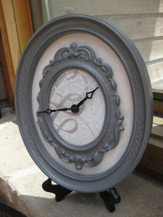 Double Framed Clock