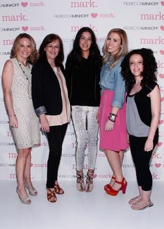 #rebeccaminkoff <3's mark event! Rebcca with our VP of Product Development and a few amazing mark. reps!