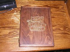 HANDCRAFTED pet adoption wooden journal notepad #CRAFTWORKSCUSTOMS