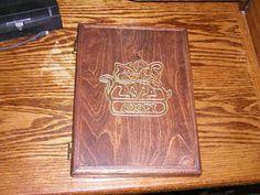 HANDCRAFTED pet adoption wooden journal notepad #CRAFTWORKSCUSTOMS