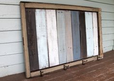 Handmade Salvaged Distressed Shabby Cottage Chic Window Frame Reclaimed Wood…