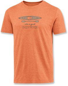 Kayaking dads will like this shirt. Life is good Kayak Cool T-Shirt - Men's