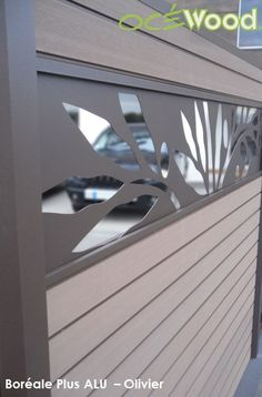 lames aluminium panneaux composites oc wood cl tures. Black Bedroom Furniture Sets. Home Design Ideas
