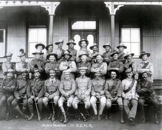 Members of the Nelson Squadron of the Seventh New Zealand Mounted Rifles. Despite the British desire that this should be a 'white man's war', Maori soldiers served, including the unidentified soldier standing in the centre of the second row. Armed Conflict, History Online, Lest We Forget, British Colonial, Zulu, Needful Things, African History, British Army, Military History
