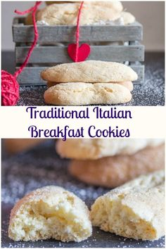 Traditional Italian Breakfast Cookies Traditional Italian Breakfast Cookies, a fast & easy cookie recipe, crunchy on outside and soft inside. Perfect for breakfast or snack. Italian Cookie Recipes, Italian Cookies, Easy Cookie Recipes, Cookie Desserts, Baking Recipes, Dessert Recipes, Italian Snacks, Greek Cookies, Cookies Light