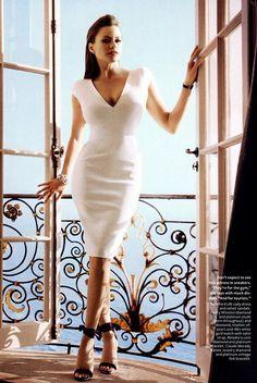 Sofia-Vergara in Tom Ford silk Cady dress