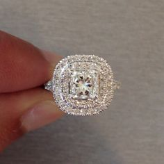 Custom made engagement ring. #Padgram