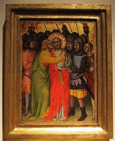 Simone dei crocifissi, tradimento di cristo, coll. privata.