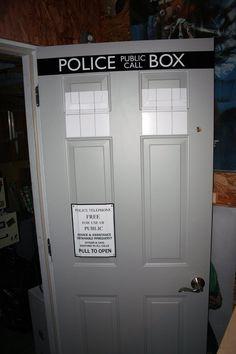Police Box door decal vinyl sticker. Its by Walkingdeadpromotion, $29.99